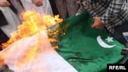 Анти-пакистански протести во Авганистан