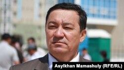 Адвокат Нұрлыбай Ізмағамбетов. Ақтау, 19 сәуір 2012 жыл.