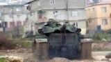 Siriýa serhedine barýan türk tanky