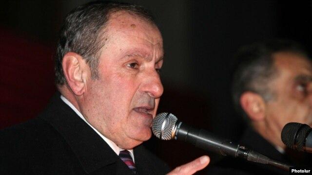 Armenian oppositionist Levon Ter-Petrossian