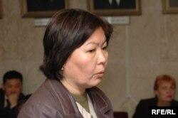 Замира Сыдыкова.