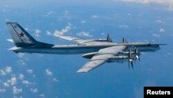 Российский бомбардировщик Ту-95. Иллюстративное фото.