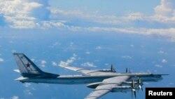 Российский бомбардировщик Ту-95, нарушивший воздушное пространство Японии в августе 2013 года