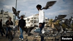 Афрыканскія мігранты ў Тэль-Авіве