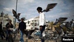 Afrički migrant u Tel Avivu