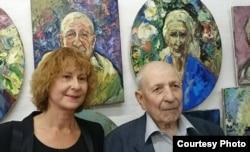 Галина Быстрицкая и Владимир Болоцкий в переславском музее