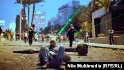 مواجهات بين متظاهرين وقوات الامن وسط القاهرة