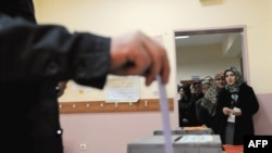 Voting in Turkey's municipal elections on March 29