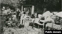Выселение семьи Мустафы Мемединова из купленного им дома в Крыму