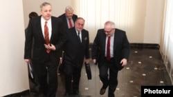 ԵԱՀԿ-ի Մինսկի խմբի համանախագահները Երեւանում, 21-ը մարտի, 2013թ.