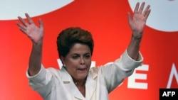 Dilma Roussef, pas shpalljes së rezultateve