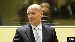 Jadranko Prlić u sudnici Haškog suda, 2013.