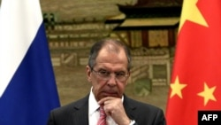 Russian Foreign Minister Sergei Lavrov's April 15 visit will come two days ahead of planned four-way talks between diplomats from Ukraine, Russia, the United States, and the European Union.