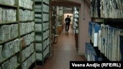 Srbija je Kosovu, prema Sporazumu iz 2011. godine trebalo da vrati svu dokumentaciju koju je uzela, kako bi se katastarske knjige upotpunile (fotografija iz arhive u Beogradu)