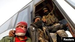 Rebelët në Siri, foto nga arkivi