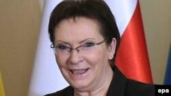 Премьер-министр Польши Эва Копач