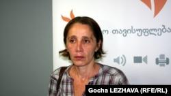 Руководитель НПО «Партизанские садоводы» Ната Перадзе