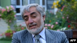 Afghan presidential candidate Abdullah Abdullah says he will reject the final tally if his demands are not met.