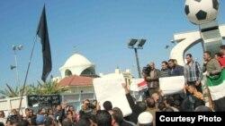 متظاهرون في شوارع بورسعيد