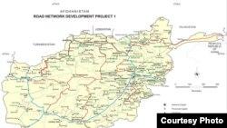 نقشه راههای افغانستان