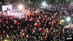 од протестите во градот Мана во февруари годинава