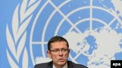 Ivan Simonoviç, zyrtarë për të drejtat e njeriut i Sekretarit të Përgjithshëm të OKB-ës.