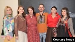 Авторские работы Людмилы Шуркиной на выставке современной чувашской моды
