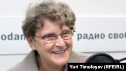 Светлана Ганнушкина в студии Радио Свобода