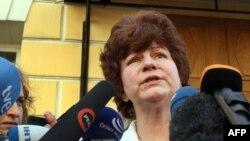 Руководитель Центра содействия международной защите Каринна Москаленко