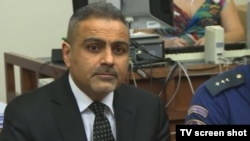 شهرام عبداللهزاده در دادگاهی در شهر برنو، جمهوری چک
