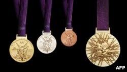 London Olimpiadasının medalları