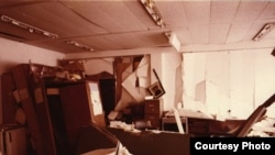 Germany - Radio Free Europe (RFE) bombing of the headquarters in Munich, 1981