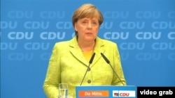 Федеральный канцлер Ангела Меркель.