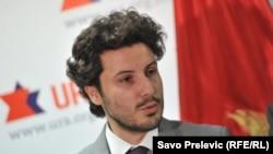 Potpredsjednik Građanskog pokreta URA, Dritan Abazović