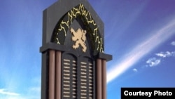 Проект памятника чехословацким легионерам в Самаре