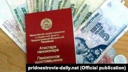 Certificat transnistrean de pensionar