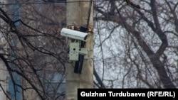 Камера видеофиксации нарушений ПДД. Бишкек.