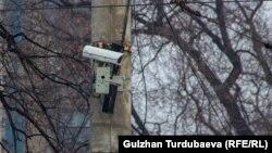Камера видеофиксации нарушений ПДД в рамках проекта «Безопасный город». Бишкек.