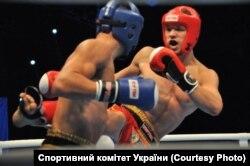 Віталій Дубіна здобув другу золоту нагороду України у кікбоксингу