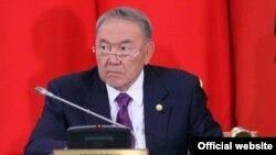 Нурсултан Назарбаев на саммите СНГ в поселке Бурабай