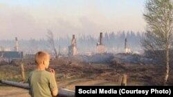 Итоги пожаров в Красноярском крае