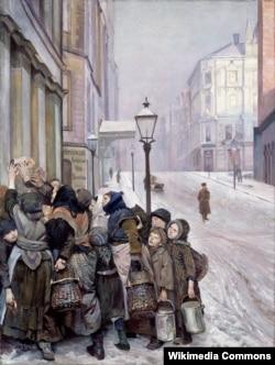 Крыстыян Крог, «Барацьба за выжываньне» (1889)