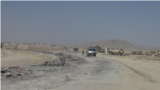 Owganystanyň Ghazni-Paktika magistral ýoly. Arhiw suraty.