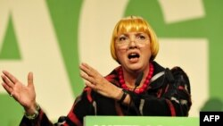 German parliamentarian Claudia Roth (file photo)
