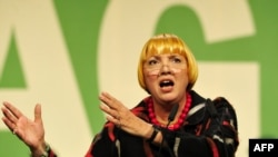"""Кляўдыя Рот, сустаршыня нямецкай партыі """"зялёных"""""""