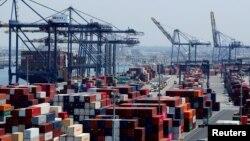 Los Anceles limanı, arxiv fotosu