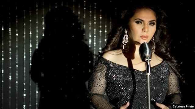 Uzbek singer Ozoda Saidzoda (file photo)