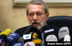 Ali Larijani (file photo)