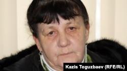 Людмила Гугиева, Илья Гугиевтің шешесі. Алматы, 30 қаңтар 2013 жыл.