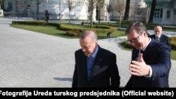 Aleksandar Vučić sa Redžepom Tajipom Erdoanom tokom posete Turskoj, ilustrativna fotografija